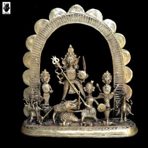 "Dokra Durga in ""Mahishashur Mordini-II"