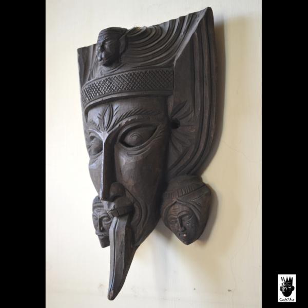 Dinajpur Wooden Mask - l
