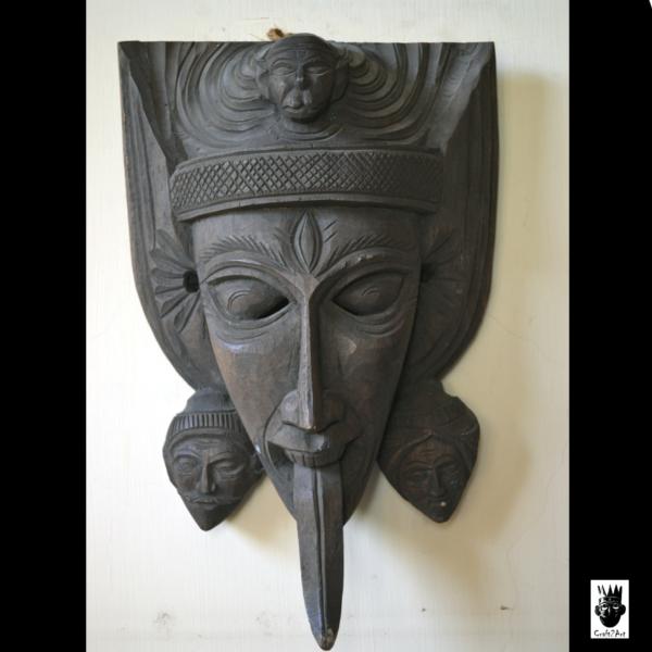 Dinajpur Wooden Mask